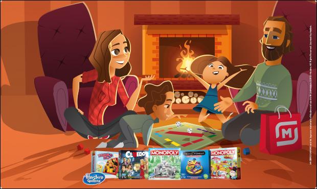 Скидка до80% наигры Hasbro всети «Магнит»