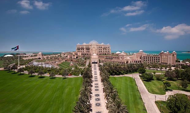 Кешбэк запроживание вотеле Emirates Palace вАбу-Даби